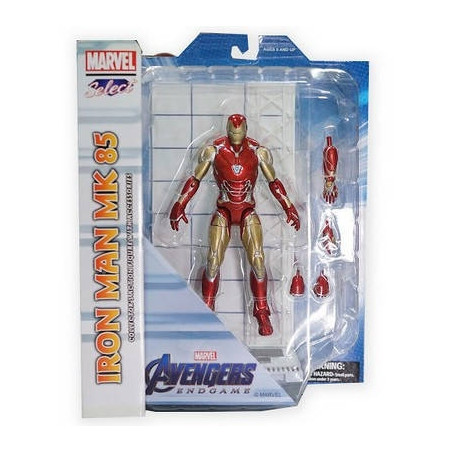 Avengers Endgame – Figurine Iron Man Mark 85 Marvel Select Figure
