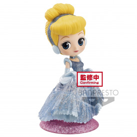Disney Characters - Figurine Cendrillon Q Posket Glitter Line