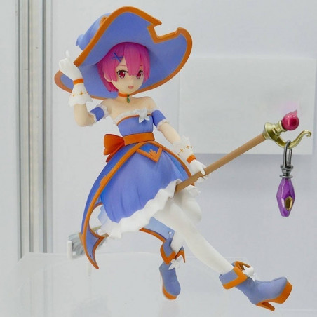 Re Zero Starting Life in Another World - Figurine Ram Witch Girl Strategy