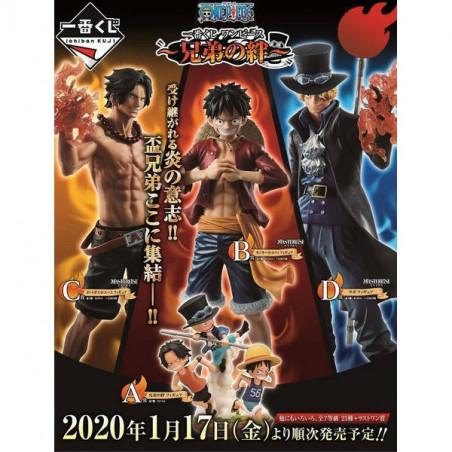 One Piece - Ticket Ichiban Kuji The Bonds Of Brothers image