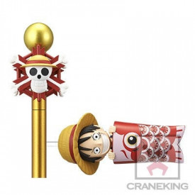 One Piece - Figurine Monkey D Luffy WCF Carp Streamer