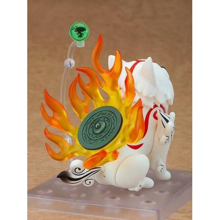 Okami - Figurine Amaterasu & Issun Nendoroid DX Ver.