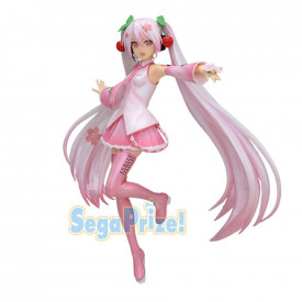 Vocaloid - Figurine Hatsune Miku SPM Figure Sakura Ver.2