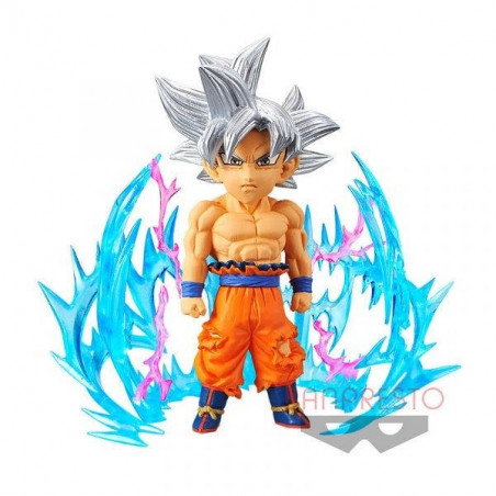 Dragon Ball Super - Figurine Son Goku Ultra Instinct WCF Plus Effect image