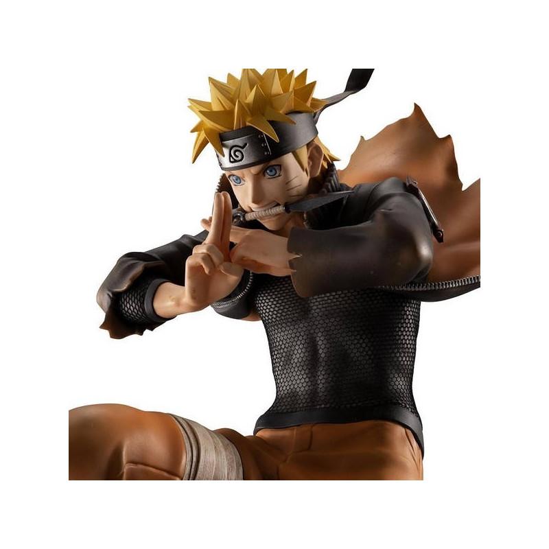 Naruto Shippuden - Figurine Uzumaki Naruto Shinobi World War G.E.M