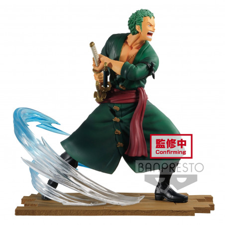 One Piece - Figurine Roronoa Zoro Log File Selection Fight Vol.1