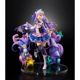 Re Zero Starting Life in Another World – Figurine Emilia & Puck Idol Ver.