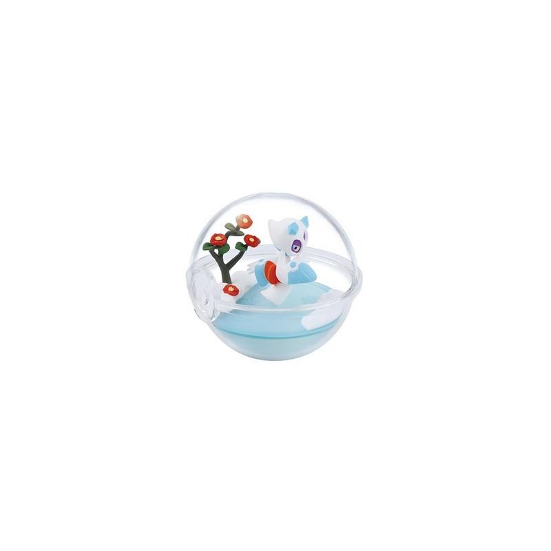 Pokemon - Figurine Momartik Pokéball Terrarium Collection Four Seasons