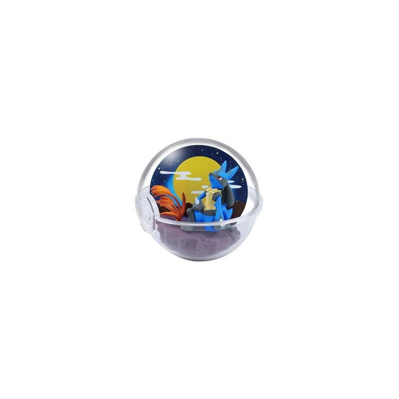 Pokemon - Figurine Lucario Pokéball Terrarium Collection Four Seasons