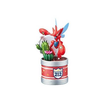 Pokemon – Figurine Cizayox Pocket Botanical image