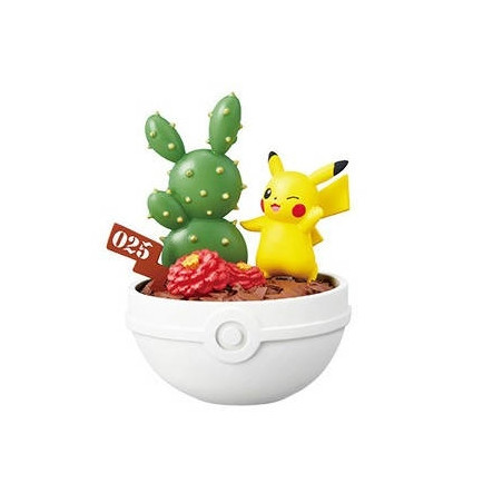 Pokemon – Figurine Pikachu Pocket Botanical image