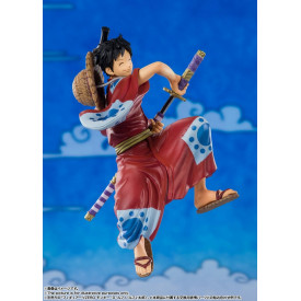 One Piece – Figurine Monkey D Luffy Figuarts Zero Wano Kuni