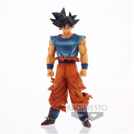 Dragon Ball Super – Figurine Son Goku Ultra-Instinct Non Maîtrisé Grandista Nero