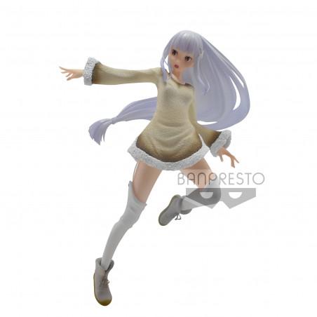 Re Zero Starting Life in Another World – Figurine Emilia Espresto Furry Materials