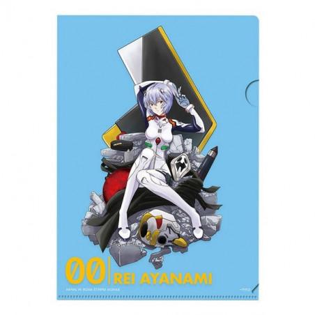 Evangelion – Pochette/ Sticker Rei Ayanami Prize G Ichiban Kuji Evangelion 2020 image