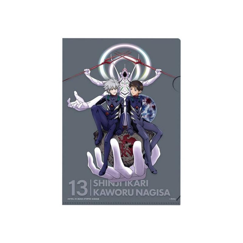 Evangelion – Pochette/ Sticker Shinji Ikari & Nagisa Kaworu Prize G Ichiban Kuji Evangelion 2020