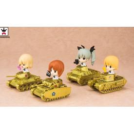Girls Und Panzer Movie – Figurine Darjeeling Commemoration With Tank Ver.