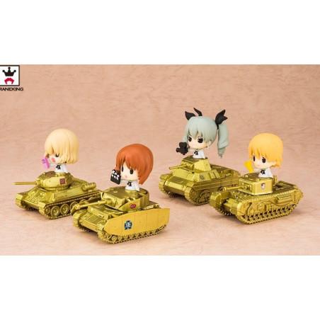 Girls Und Panzer Movie – Figurine Katyusha Commemoration With Tank Ver.