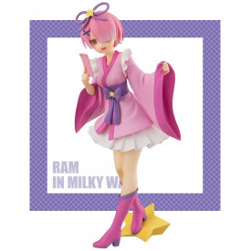Re Zero Starting Life in Another World - Figurine Ram Super Special Series In Milky Way
