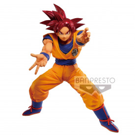 Dragon Ball Super – Figurine Son Goku SSJ God Maximatic V