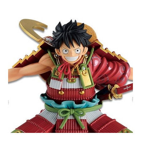 One Piece – Figurine Monkey D Luffy Warrior Armor Ichibancho Wano Country 2nd Act image