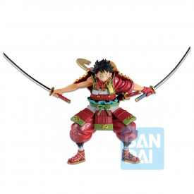 One Piece – Figurine Monkey D Luffy Warrior Armor Ichibancho Wano Country 2nd Act