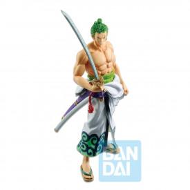 One Piece – Figurine Roronoa Zoro & Enma Ichibancho Wano Country 2nd Act