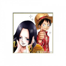 One Piece – Shikishi Boa & Luffy Ichiban Kuji One Piece Great Banquet Prize J