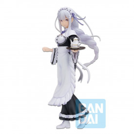 Re Zero Starting Life in Another World - Figurine Emilia Ichibancho Rejoice That There Are Lady On Each Arm