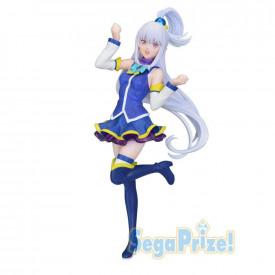Re Zero Starting Life in Another World – Figurine Emilia LPM Figure Aqua Ver.