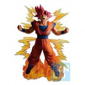 Dragon Ball Z – Figurine Son Goku Ssj God Ichibansho Dokkan Battle 6th Anniversary