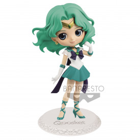 Sailor Moon Eternal The Movie - Figurine Super Sailor Neptune Q Posket Ver.A