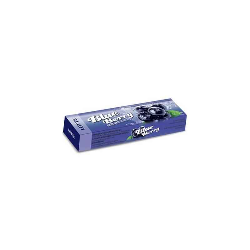 Lotte Blue Berry Stick Gym Goût Myrtille 13,5Gr