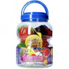 Fruity Jelly Assortiment Nappage Noix De Coco 1328Gr