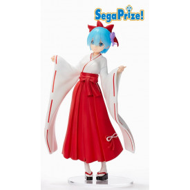 Re Zero Starting Life in Another World – Figurine Rem SPM Figure Japan Dress