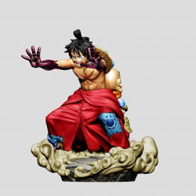One Piece – Figurine Monkey...
