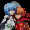 Genesis Evangelion – Figurine Asuka Shikinami Langley & Rei Ayanami Twinmore Object