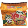 5 Packs Nouilles Instantanées Hot Poulet Ramen Buldak Curry