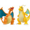 Pokémon - Maquettes Dracaufeu VS Dracolosse Plastic Model