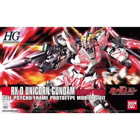 Gundam - Maquette RX-0...