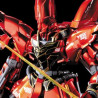 Gundam - Maquette MSN-06S Sinanju Titanium Finish Ver. Ka - MG 1/100 Model Kit