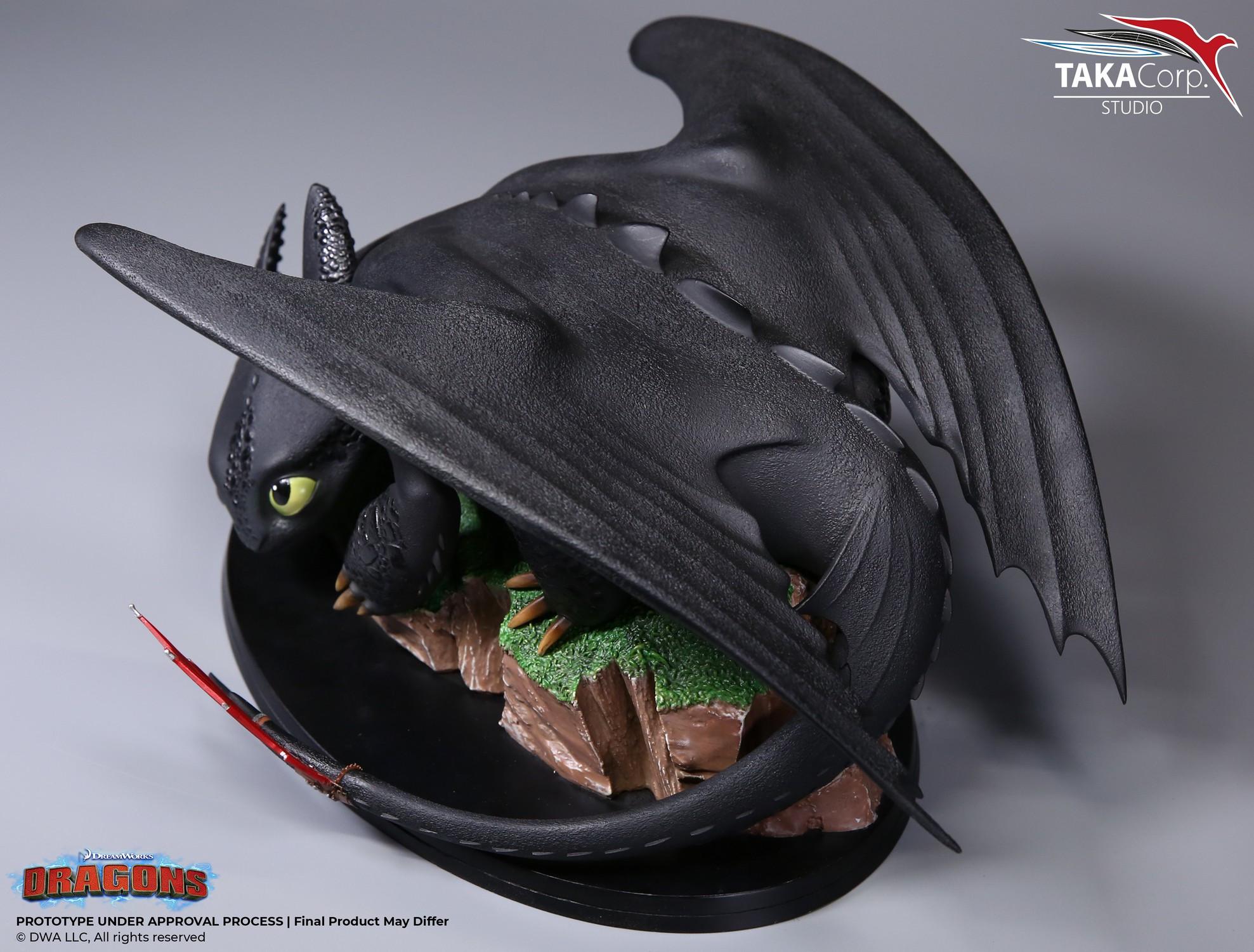 Dragons – Figurine Krokmou