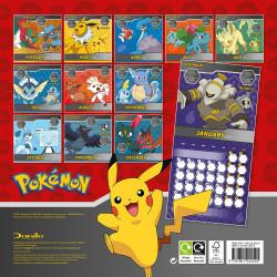 Pokemon - Calendrier 2022