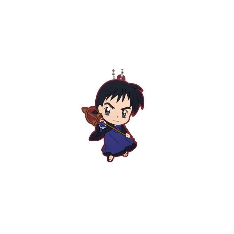 Inuyasha - Strap Miroku Rubber Mascot