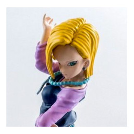 Dragon Ball Z - Figurine C18 Scultures Big 6 Vol.1