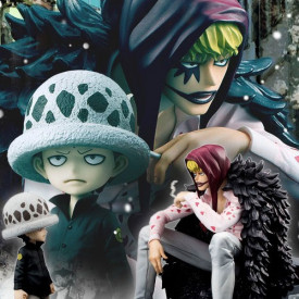 One Piece - Figurine P.O.P Corazon et Law Limited Edition image