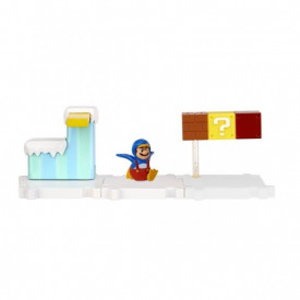 Mario - Micro playset Mario Manchot et Mont Sorbet