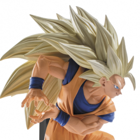 Dragon Ball Z - Figurine Sangoku SSJ 3 Scultures Big 6 Vol.6