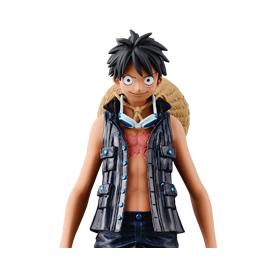 One Piece - Figurine Luffy Grandline Men DXF Film Gold Vol.1