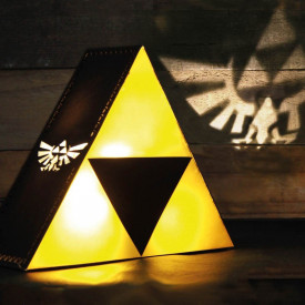 The Legend of Zelda - Lampe Triforce Projecteur image